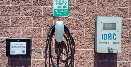Ionic Mechatronics Limited  offers FREE electric car charging station